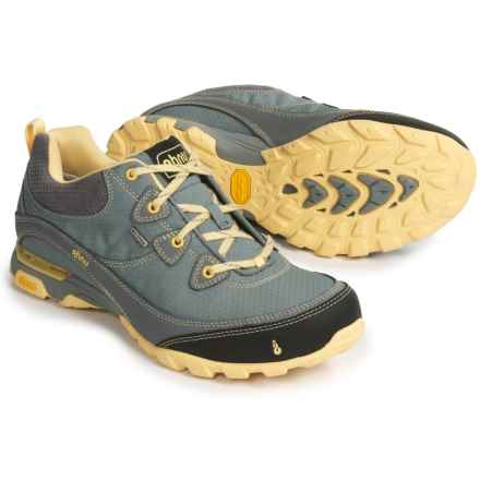 Ahnu Sugarpine Hiking Shoes - Waterproof (For Women) in Monument - Closeouts