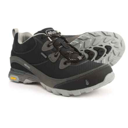 Ahnu Sugarpine Hiking Shoes - Waterproof (For Women) in New Black - Closeouts