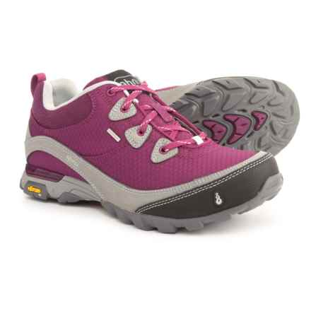 Ahnu Sugarpine Hiking Shoes - Waterproof (For Women) in Royal Magenta - Closeouts
