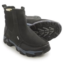 Ahnu Tamarack Winter Boots - Waterproof, Insulated, Leather (For Men) in Black - Closeouts