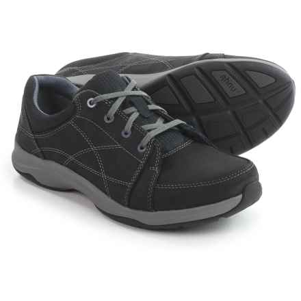 Ahnu Taraval Sneakers - Leather (For Women) in Black - Closeouts