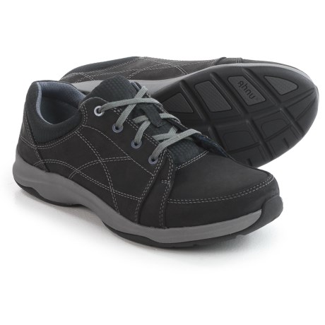 Ahnu Taraval Sneakers - Leather (For Women) in Black