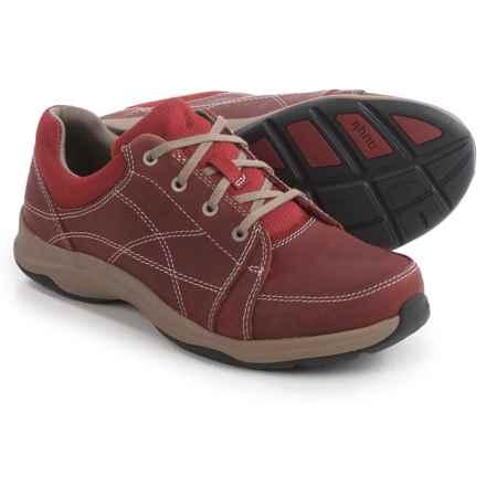 Ahnu Taraval Sneakers - Leather (For Women) in Dare Devil - Closeouts