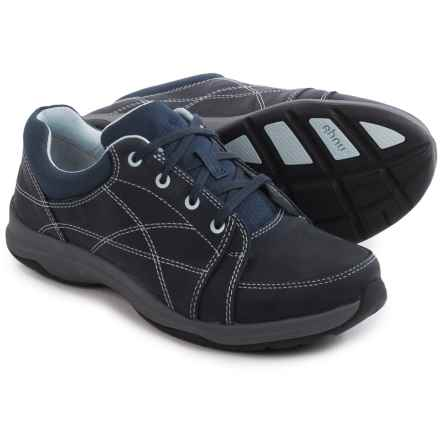Ahnu Taraval Sneakers - Leather (For Women) in Dress Blue - Closeouts