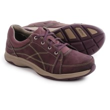 Ahnu Taraval Sneakers - Leather (For Women) in Vintage Port - Closeouts