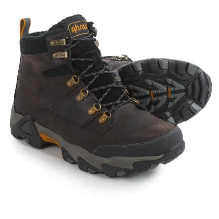 Ahnu Thinsulate® Orion Leather Winter Boots - Waterproof, Insulated (For Men) in Cortado - Closeouts