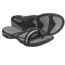 Ahnu Tomales Sandals - Leather (For Women) in Black - Closeouts