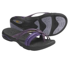 Ahnu Tomales Sandals - Leather (For Women) in Grape Royal - Closeouts