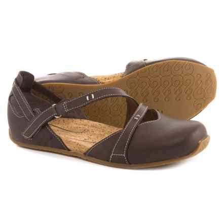 Ahnu Tullia II Shoes - Nubuck (For Women) in Porter - Closeouts