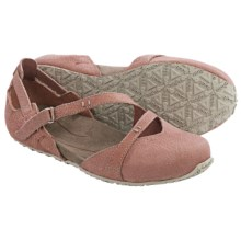 Ahnu Tullia Shoes - Nubuck (For Women) in Brick Dust - Closeouts