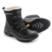 Ahnu Twain Harte Snow Boots - Waterproof, Insulated, Leather (For Women) in Black - Closeouts