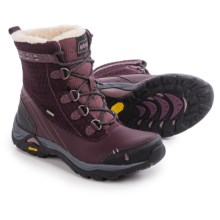 Ahnu Twain Harte Snow Boots - Waterproof, Insulated, Leather (For Women) in Vintage Port - Closeouts