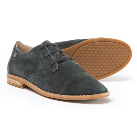 Image of Aiden Clever Oxford Shoes - Suede (For Women)