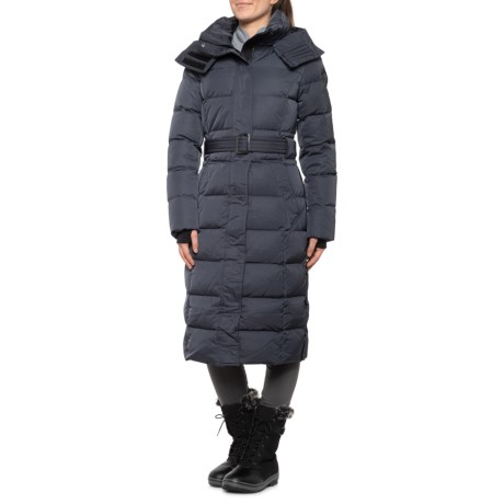 Ainslie Long Puffer Down Coat - 550+ Fill Power (For Women) - NAVY (2XL )