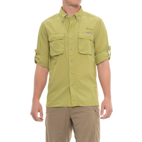 Image of Air Strip Shirt - UPF 30+, Long Sleeve (For Men)
