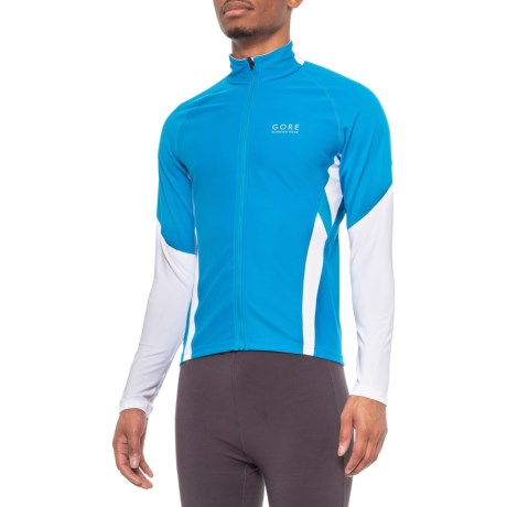 Air Windstopper(R) Shirt - Full Zip, Long Sleeve (For Men) - SPLASH BLUE/WHITE (M ) thumbnail