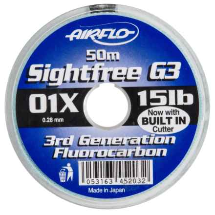 Airflo G3 Fluorocarbon Tippet - 164', 12/15 lb. in See Photo - Closeouts