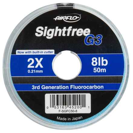 Airflo G3 Fluorocarbon Tippet - 164' in See Photo - Closeouts