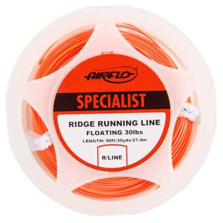 Airflo Ridge Running Line Floating Fly Line - 90' in Orange - Closeouts