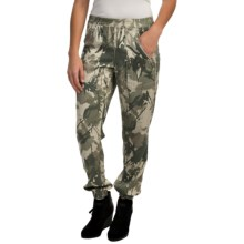 AJ Andrea Jovine Printed Ankle Pants (For Women) in Camoflage Print - Closeouts