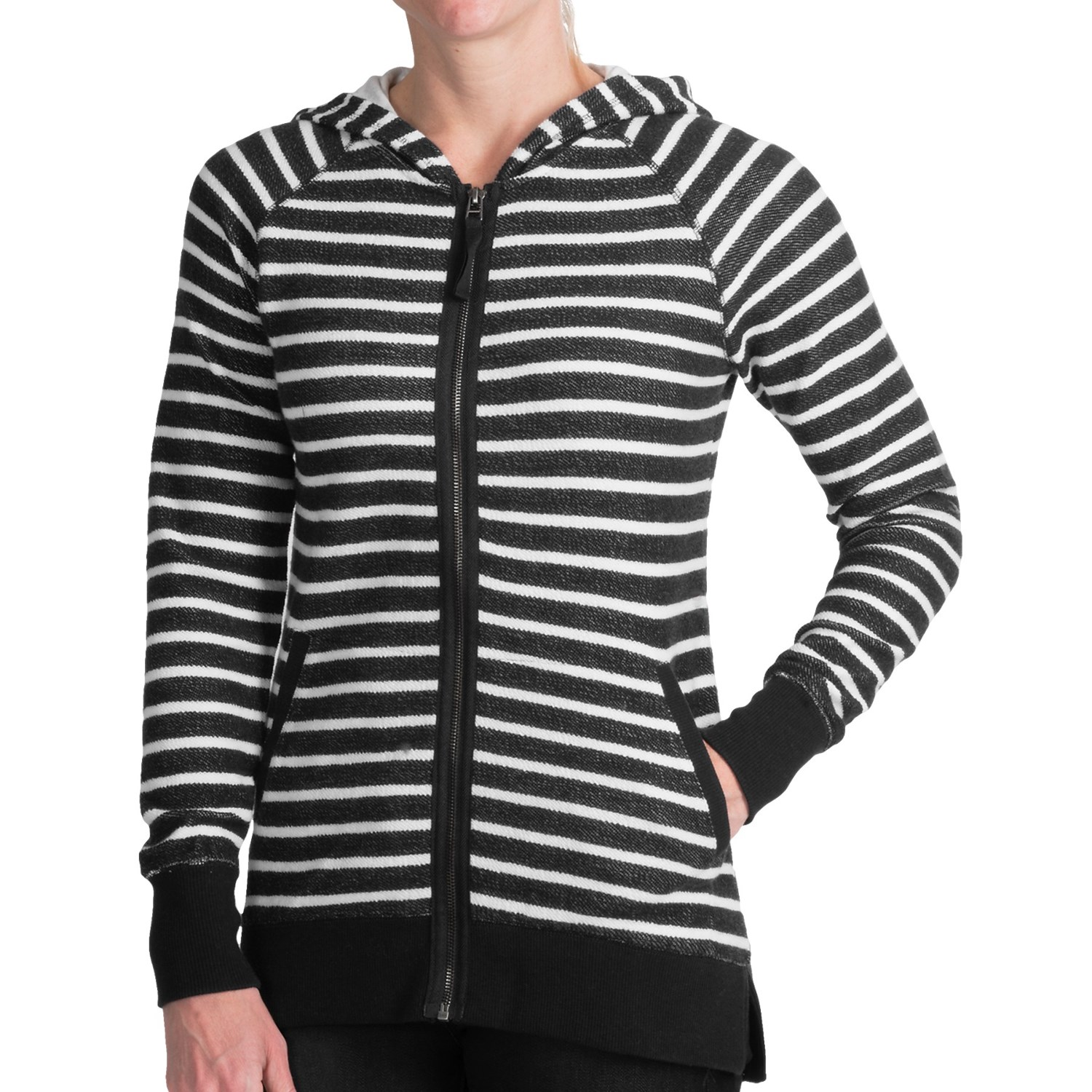 Submit Your Own Image · AJ Andrea Jovine Striped Hoodie