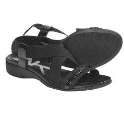 AK Anne Klein Kindheart Sling-Back Sandals (For Women) in Black