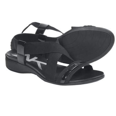 AK Anne Klein Kindheart Sling-Back Sandals (For Women) in Black