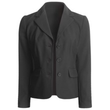 A.K.A. Woman Black Jacket - Wrinkle Resistant (For Women) in Jet - Closeouts
