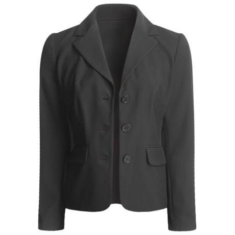 A.K.A. Woman Black Jacket - Wrinkle Resistant (For Women) in Jet