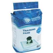 AKC 50-Pack Training Pads - Fresh Scent in See Photo - Closeouts