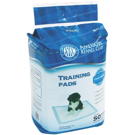 AKC 50-Pack Training Pads - Fresh Scent in See Photo