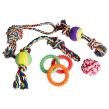 AKC Assorted Dog Toys - 2-Pack in Asst - Closeouts