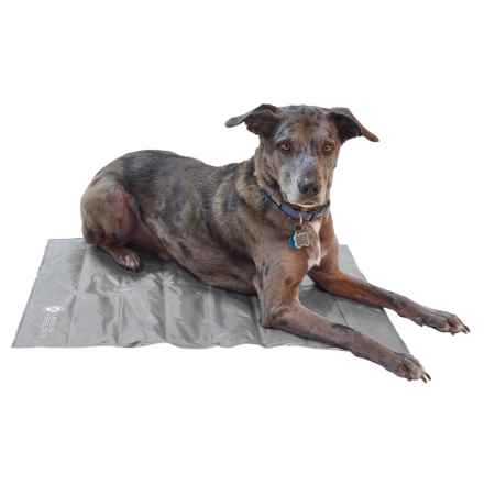 "AKC Cooling Mat For Pets - Extra Large, 30x24"" in Charcoal/Tan - Closeouts"