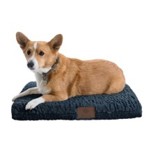 """AKC Deluxe Orthopedic Dog Crate Mat - Medium, 24x19"""" in Blue - Closeouts"""