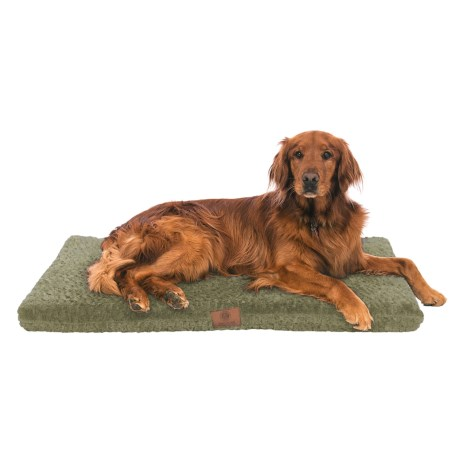 "AKC Orthopedic Crate Mat - 3x42x27"" in Green, Sage"