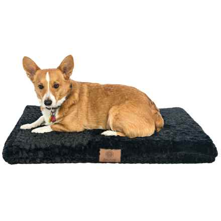 "AKC Orthopedic Dog Crate Mat - 3x22x30"" in Black - Closeouts"