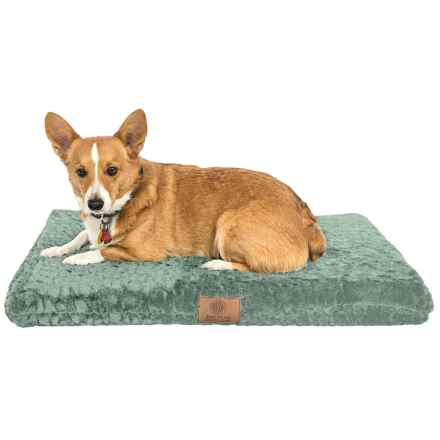 "AKC Orthopedic Dog Crate Mat - 3x22x30"" in Green - Closeouts"