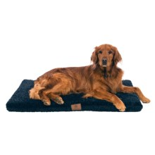 "AKC Orthopedic Dog Crate Mat - 42x27"" in Blue - Closeouts"