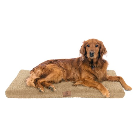 """AKC Orthopedic Dog Crate Mat - 42x27"""" in Tan"""