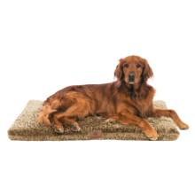"AKC Orthopedic Dog Crate Mat - 42x27x2"" in Taupe - Closeouts"