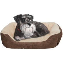 "AKC Pet Bed - 28x20"" in Brown - Closeouts"