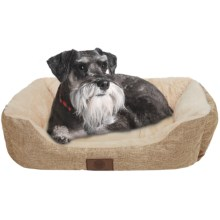 """AKC Pet Bed - 28x20"""" in Taupe - Closeouts"""