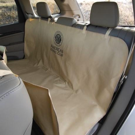 "AKC Pet Car Seat Cover - 59x57"" in Tan"