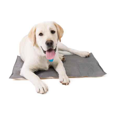 AKC Pet Cooling Dog Pad - Large in Grey/Tan - Closeouts