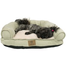 "AKC Pet Couch Bed - 10x26x22"" in Green - Closeouts"