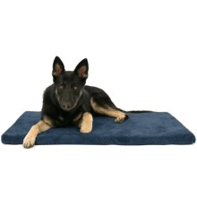 "AKC Pixel Memory-Foam Dog Mat - 42x27"" in Navy - Closeouts"