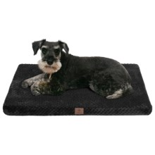 "AKC Pixel Memory-Foam Dog Mat - Large, 30x22"" in Black - Closeouts"