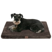 "AKC Pixel Memory-Foam Dog Mat - Large, 30x22"" in Chocolate - Closeouts"