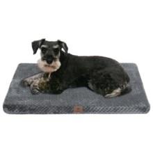 "AKC Pixel Memory-Foam Dog Mat - Large, 30x22"" in Gray - Closeouts"