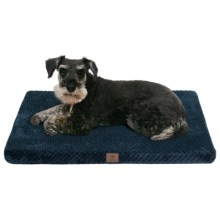 "AKC Pixel Memory-Foam Dog Mat - Large, 30x22"" in Navy - Closeouts"